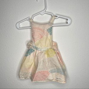 Boutique baby dress Thistle & thorn sz 3 mo